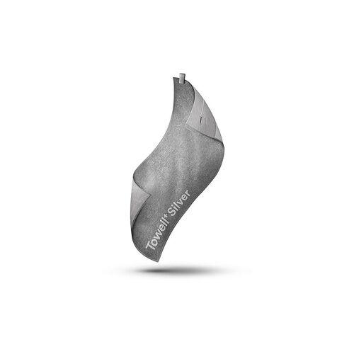STRYVE Sporthandtuch Towell+ Silver grau   1011761