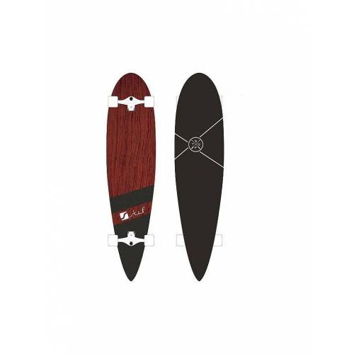 STUF Longboard LONG BEACH braun   1007067
