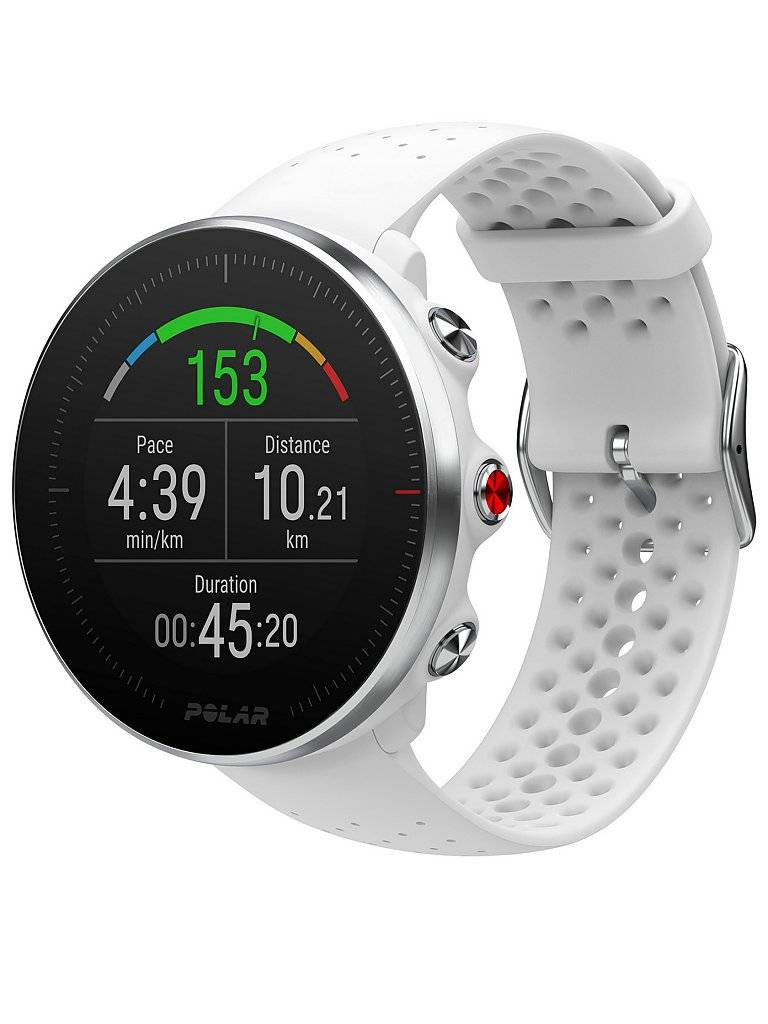 POLAR GPS-Multisportuhr Vantage M S weiß   90069744
