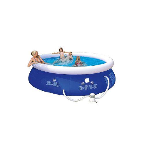 HAPPY PEOPLE Quick Up Pool Set 300 x 76 cm blau   77770