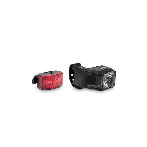 Cube ACID Fahrrad-Beleuchtungsset PRO 30 StVZo schwarz   93052