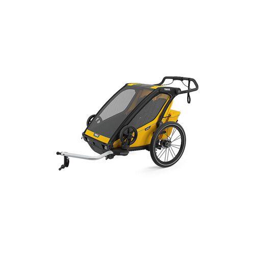 THULE Fahrradanhänger Chariot Sport 2 gelb   10201024