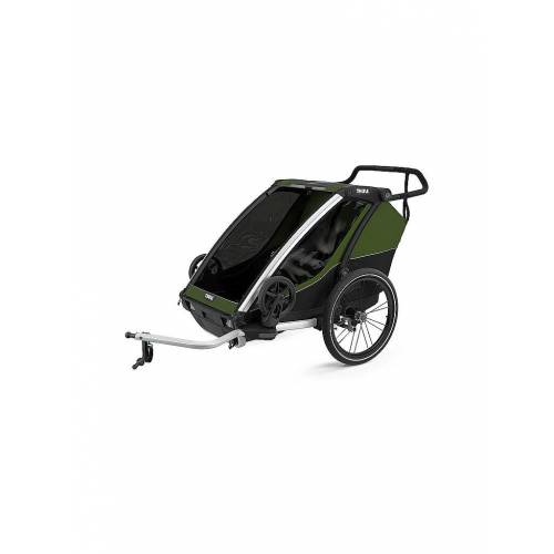 THULE Fahrradanhänger Chariot Cab 2 grün   10204021