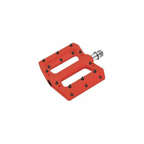 Cube Fahrradpedal Flat ETP rot   14138-