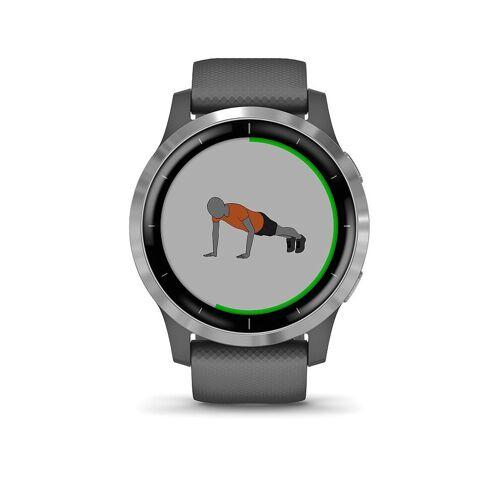 Garmin Smartwatch Vivoactive 4 grau   010-02174-02