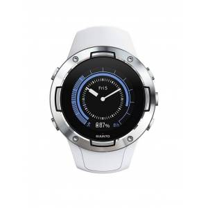 SUUNTO GPS-Sportuhr Suunto 5 weiß   SS050300000