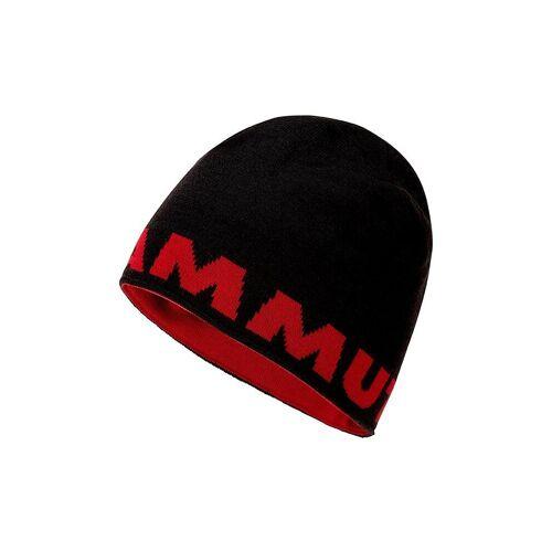 MAMMUT Beanie Mammut Logo schwarz   1191-04891