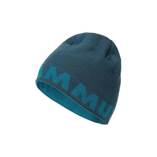 MAMMUT Beanie Mammut Logo blau   1191-04891