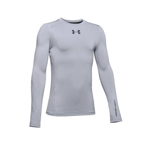 UNDER ARMOUR Kinder Fußballshirt ColdGear® Armour grau   Größe: 140-152   1343270-011