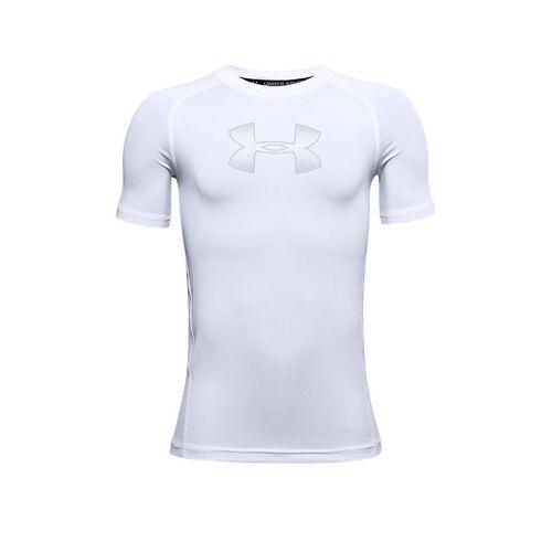 UNDER ARMOUR Kinder Fußballshirt UA HeatGear® Armour weiß   Größe: 152-158   1343015-101