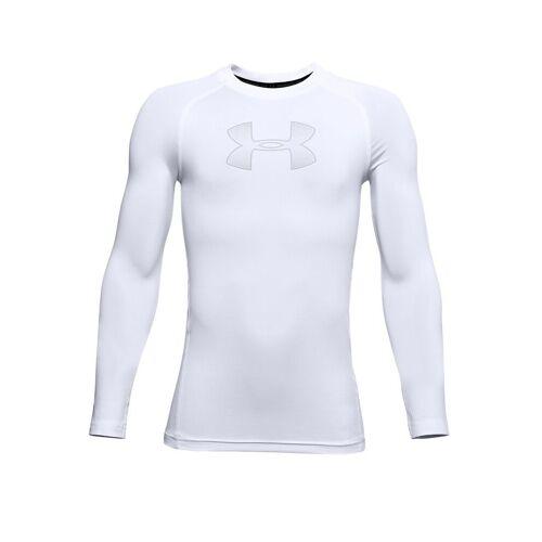 UNDER ARMOUR Kinder Fußballshirt UA HeatGear® Armour weiß   Größe: 140-152   1343014-101