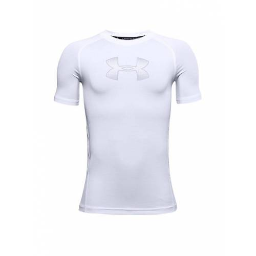 UNDER ARMOUR Kinder Fußballshirt UA HeatGear® Armour weiß   Größe: 158-170   1343015-101