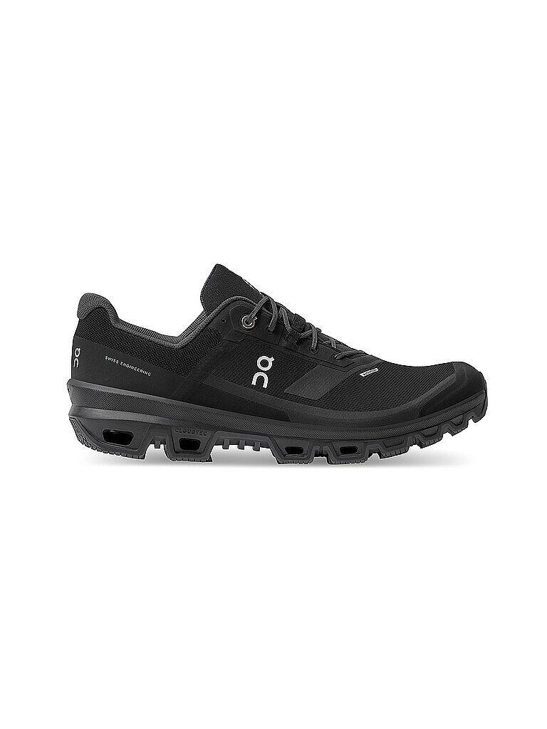 ON Herren Traillaufschuhe Cloudventure Waterproof BLACK schwarz   Größe: 42   32