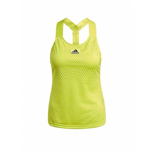 Adidas Damen Tennistop HEAT.RDY Primeblue gelb   Größe: XS   GH7593