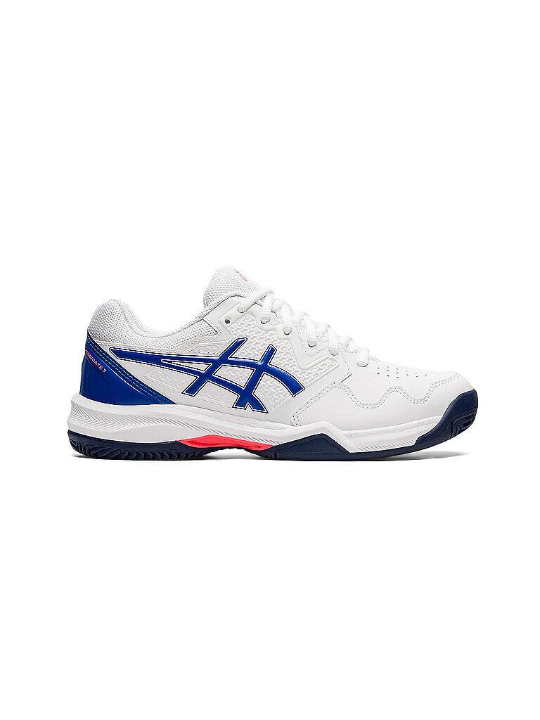 ASICS Damen Tennisschuhe Gel-Dedicate 7 Clay weiß   Größe: 41,5   1042A168