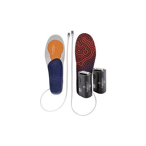 THERM-IC Skischuh Einlagesohlen-Set 3D + C-Pack 1300B schwarz   Größe: L=42-43   T44-0201-400