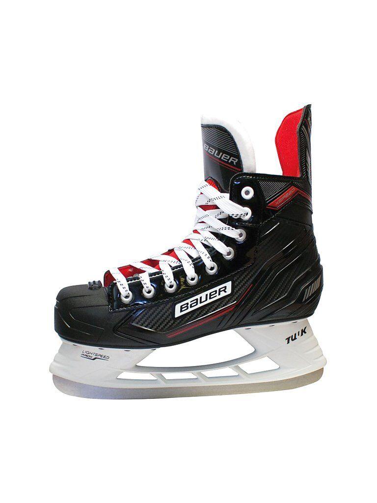 BAUER Herren Hockeyschuh X Speed Skate schwarz   Größe: 45,5   3003754