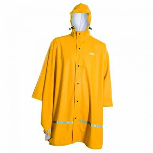 Owney Regen - Poncho Outdoor Unisex Regenjacke Gelb