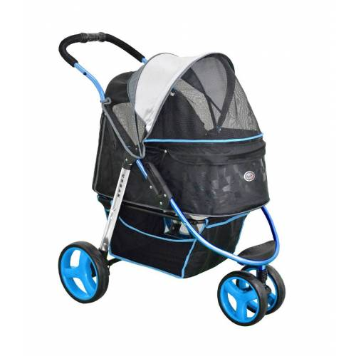 InnoPet ® Hundebuggy Pet Stroller  Urban blue - IPS-065/B blau