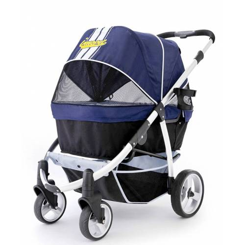 InnoPet® buggy Retro Hundebuggy Hundewagen Pet Stroller mit Aluminium Rahmen- I