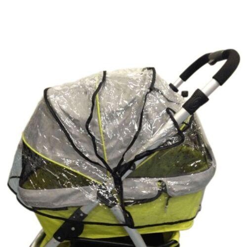 InnoPet® Raincover universal Regenhaube für Hundebuggy RETRO Buggy