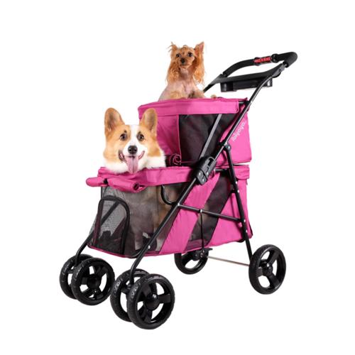 InnoPet Double Decker Hundebuggy Pet Stroller Hundewagen von Label Ibiyaya ® Vertrieb: