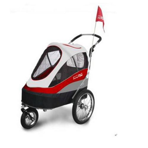 InnoPet® Sporty Trailer AT Pet Stroller Hundebuggy mit Luftreifen Fahrradanhän