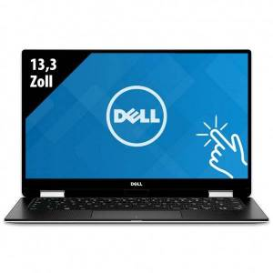 Dell XPS 13 2-in-1 (9365) - 13,3 Zoll - Core i7-7Y75 @ 1,3 GHz - 8GB RAM - 250GB SSD - FHD (1920x1080) - Touch - Webcam -Win10Home
