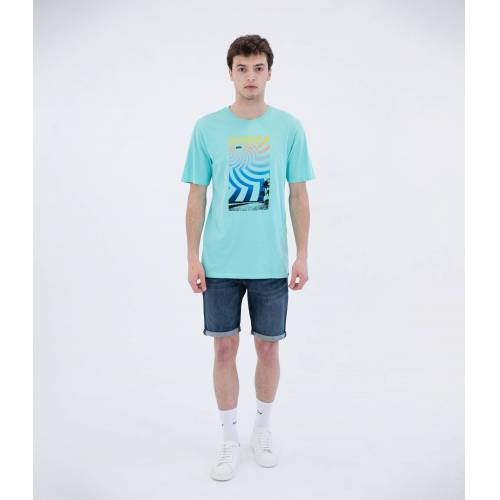 EVERYDAY WASHED TROPICAL S/S - MEN TROPICAL TWIST M