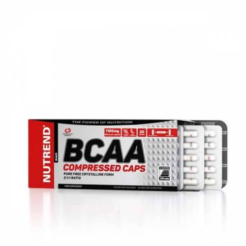 Nutrend BCAA Compressed Caps, 120 Kapseln