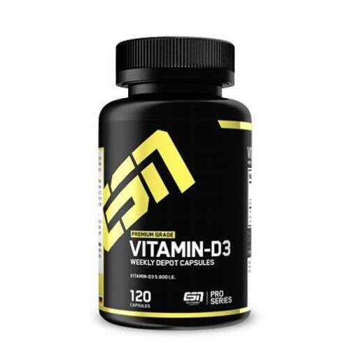 Fitmart GmbH und Co. KG ESN Vitamin D3, 120 Kapseln