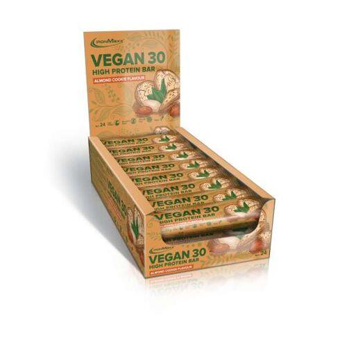 IronMaxx Vegan 30 High Protein Bar, 24 x 35g
