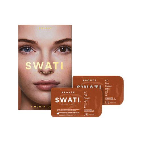 Swati 1-Monats-Kontaktlinsen Bronze