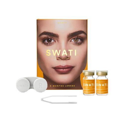 Swati 6-Monats-Kontaktlinsen Honey