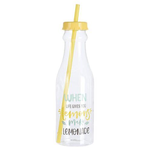Excellent Houseware Trinkflasche Lemonade 650 ml