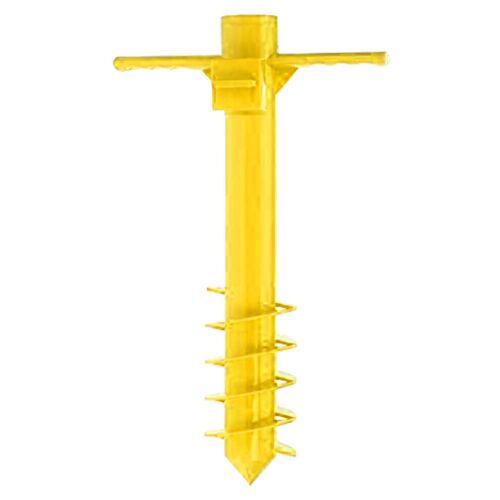 Excellent Houseware Sonnenschirmhalter Gelb