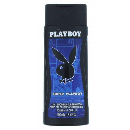 Playboy Super Playboy 2in1 Shower Gel & Shampoo 400 ml
