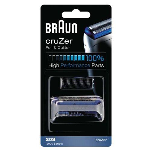 Braun cruZer Foil & Cutter Shaver Head 20S