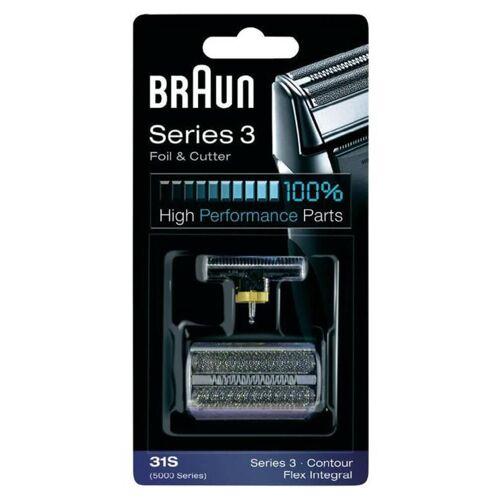 Braun Series 3 Foil & Cutter Shaver Head 31S