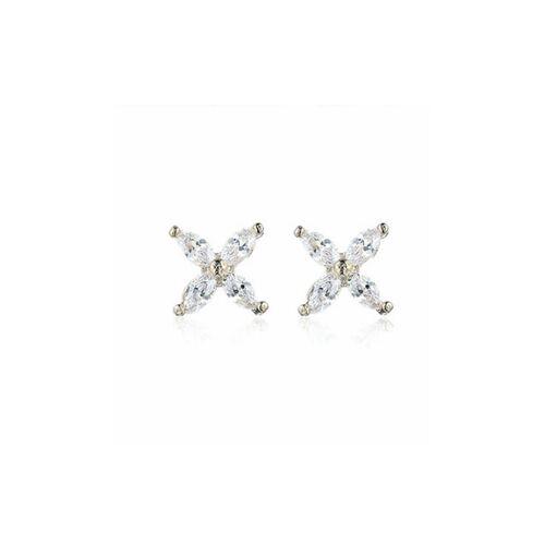 Everneed Cassie - kleine Kristallohrringe Gold (U)