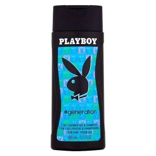 Playboy Generation 2in1 Shower Gel & Shampoo 400 ml