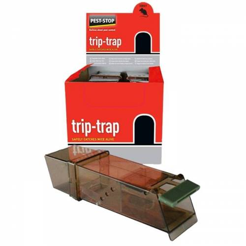 Pest Stop Pest-Stop Trip Trap Mouse Trap ( pack of 6 )