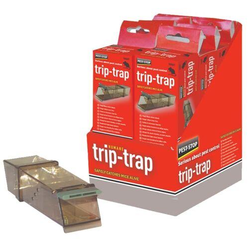 Pest Stop Pest-Stop TripTrap Mouse Trap box ( pack of 6 )
