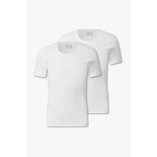 Westbury C&A Unterhemd-Feinripp-Bio-Baumwolle-2er Pack, Weiß, Größe: XXL