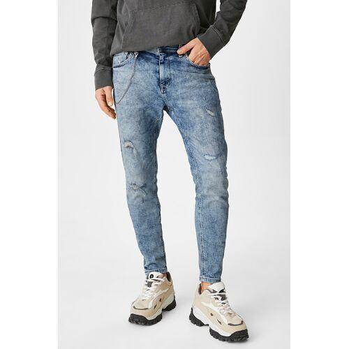 Clockhouse C&A CLOCKHOUSE-Carrot Jeans, Blau, Größe: W30 L32/Male