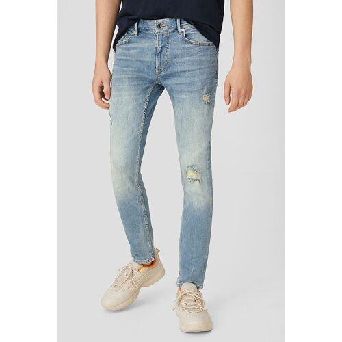 Clockhouse C&A CLOCKHOUSE-Skinny Jeans, Blau, Größe: W33 L32/Male