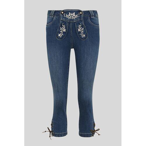 C&A Trachten-Jeans, Blau, Größe: 40