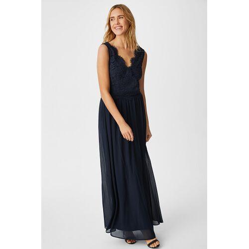 C&A Fit & Flare Kleid-festlich, Blau, Größe: 34