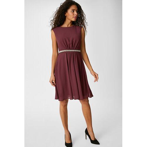 C&A Fit & Flare Kleid-festlich, Rot, Größe: 44
