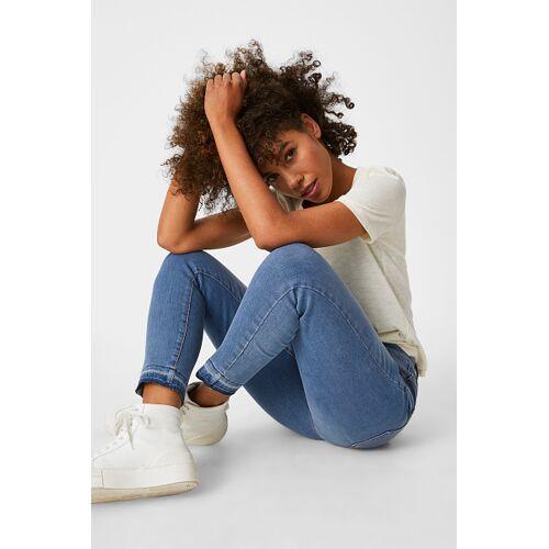 Yessica C&A Slim Jeans, Blau, Größe: 40